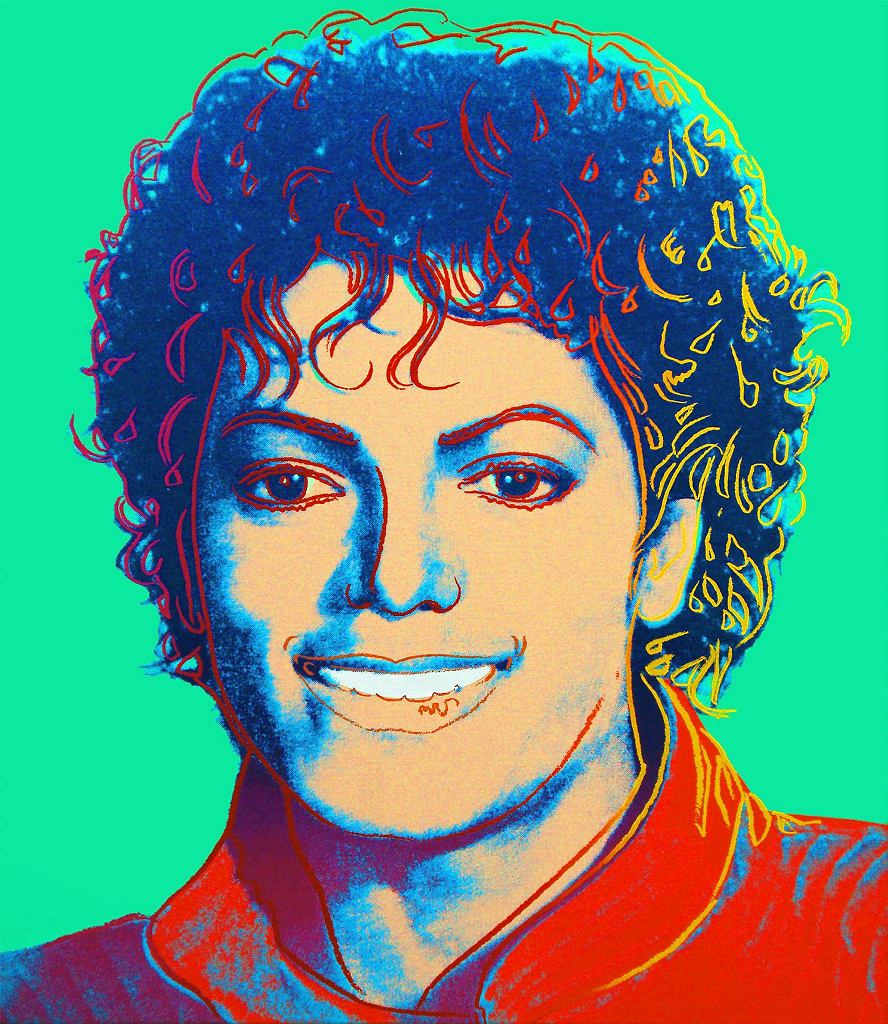 / Andy Warhol, Michael Jackson, sitodruk
