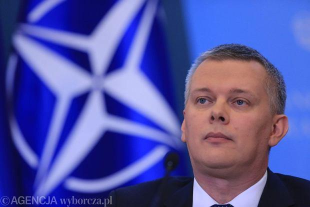 """Siemoniak: W Bydgoszczy powstanie jednostka zwi�zana z tzw. szpic� NATO. """"B�dzie start ostry"""""""