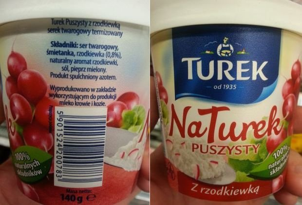 """Jedna rzodkiewka na 16 serk�w Turek? Firma: """"Nieprawda. Na serek przypadaj� dwie rzodkiewki, ale suszone"""""""