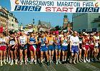 Maraton Warszawski 2015. Garstka biegaczy, gazowana woda i kie�basa po biegu. Jak zmienia� si� legendarny maraton