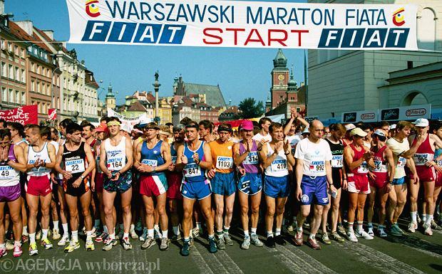 Maraton Warszawski 1994 r.