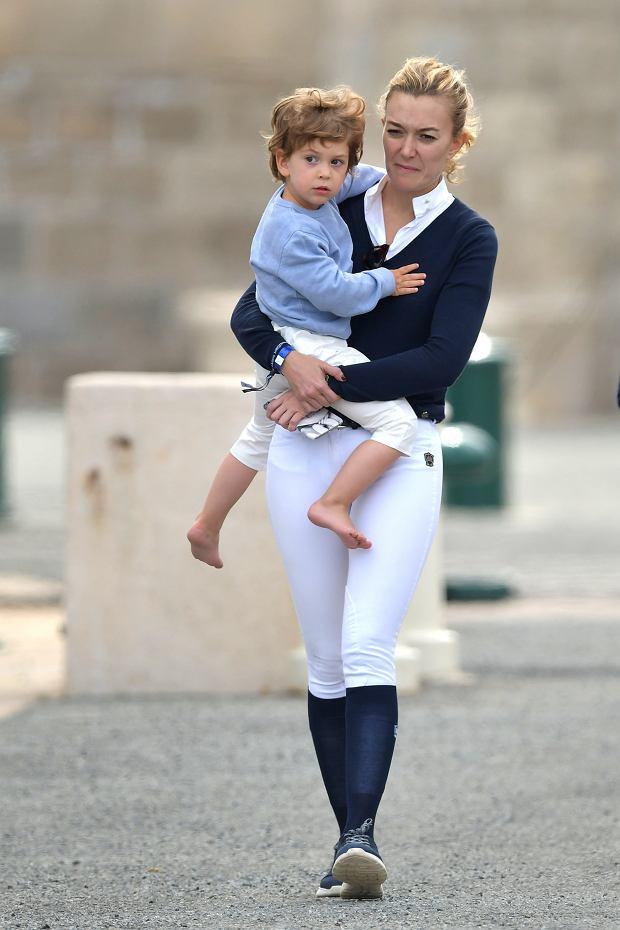 Marta Ortega Perez z synem Amancio