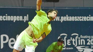 Mecz Jerzy Janowicz - Nikoloz Basilashvili na Pekao Szczecin Open 2016