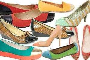 Buty ze srebrnymi i kolorowymi czubkami - ponad 50 propozycji