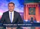 """Poniedziałek w """"Wiadomościach"""" na wysokości zadania: Komisja Wenecka przykryta teczkami"""
