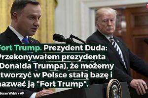 5 najbardziej pamiętnych momentów wizyty prezydenta Andrzeja Dudy w Białym Domu