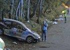 Wypadek podczas rajdu samochodowego w Hiszpanii. Sześć osób nie żyje