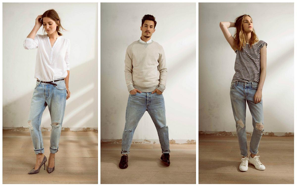 levi 39 s prezentuje nowy model jeans w 501 ct. Black Bedroom Furniture Sets. Home Design Ideas