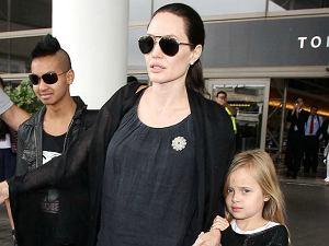 Angelina Jolie z dzie�mi