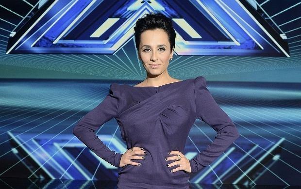 """Wyzywaj�ca sukienka Okupnik w """"X Factor"""". Gwiazda pokaza�a WI�CEJ ni� zamierza�a!"""