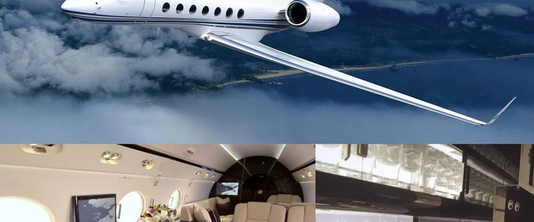Zobacz w jakim luksie b�dzie podr�owa� polski rz�d. Antoni Macierewicz wybra� samoloty Gulfstream G550