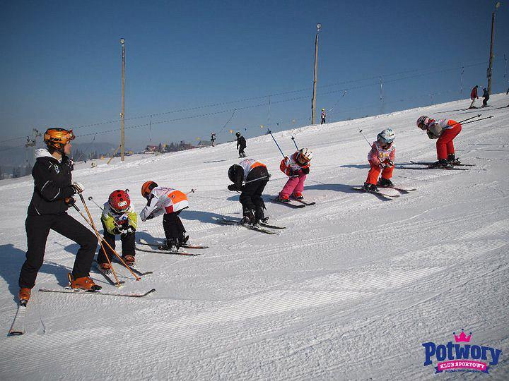 Rozmowa to ważny element nauki narciarstwa