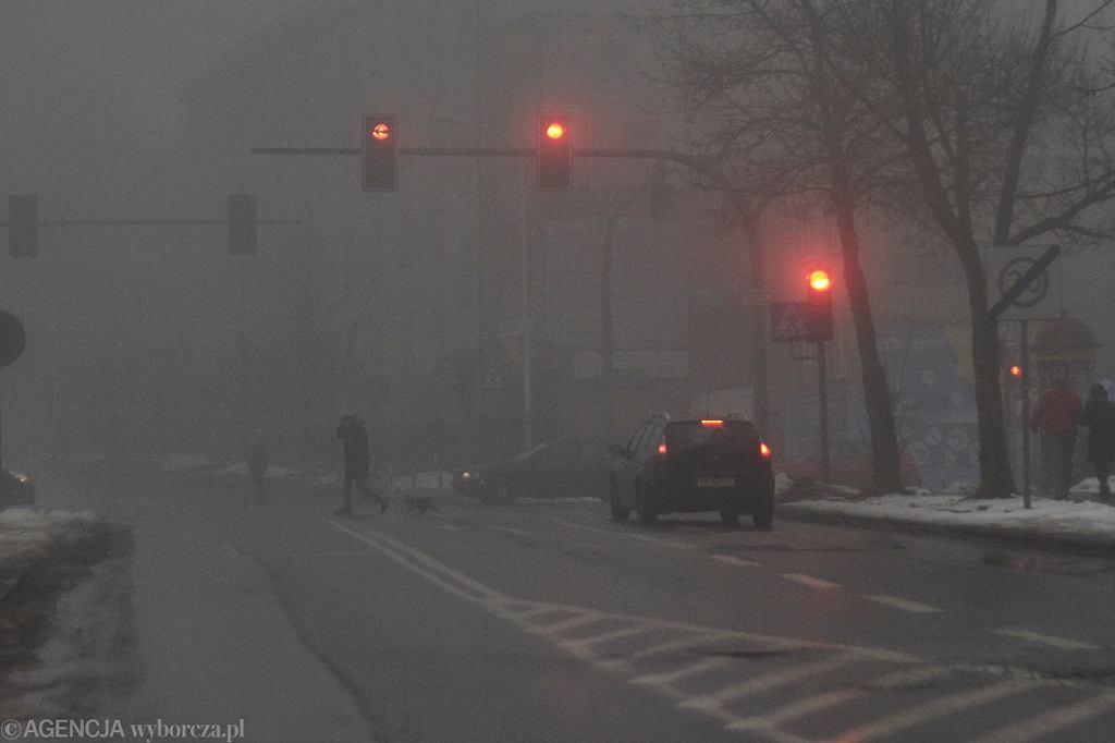 Zimowe warunki na drogach