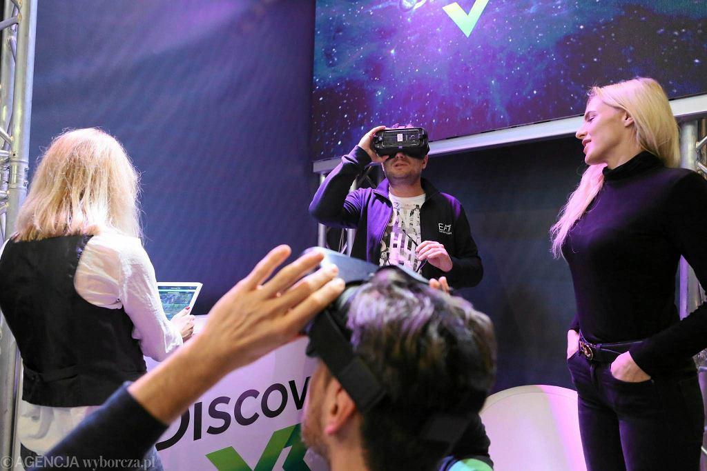 European VR Congress 2016 w Warszawie / Agata Grzybowska / Agencja Gazeta