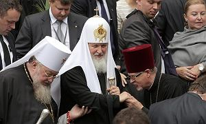 Carskie wrota w darze od Cyryla I dla nowej kaplicy w Warszawie