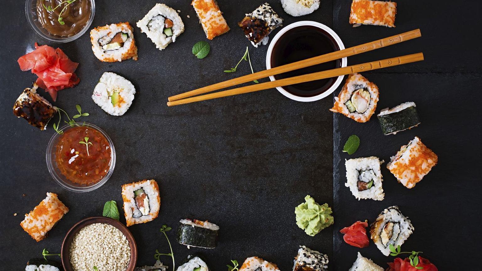 sushi kalorie ile kalorii ma sushi. Black Bedroom Furniture Sets. Home Design Ideas