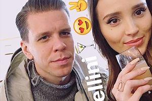 Marina Łuczenko Szczęsna i Wojciech Szczęsny w Wenecji