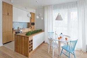Przytulny apartament w pastelowych kolorach