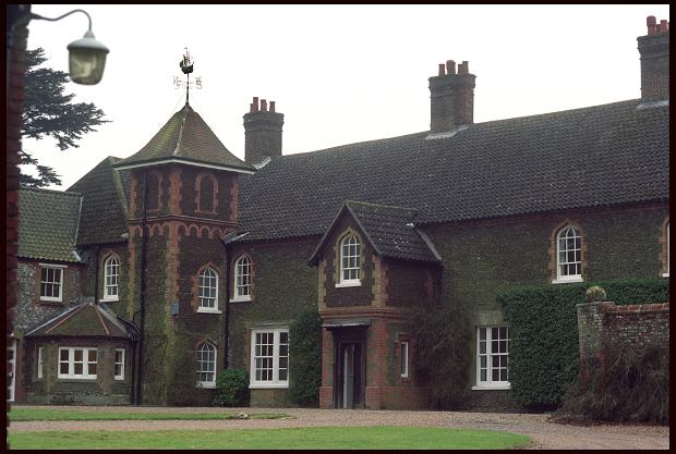 Anmer Hall on the Queen's Sandringham Estate in Norfolk. Speculation is rife that the hall is going to be given to The Duke and Duchess of Cambridge as their country retreat.