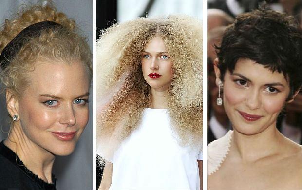 Najlepsze fryzury dla kr�conych w�os�w - wzoruj si� na gwiazdach