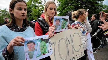 Śmierć Igora na komisariacie wywołała protesty na ul. Trzemeskiej