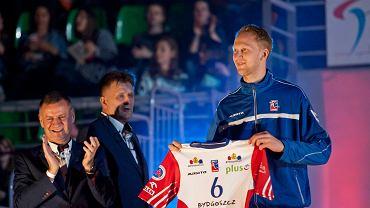 Jakub Jarosz odebrał koszulkę od działaczy, ale w meczu ze Skrą nie zagrał