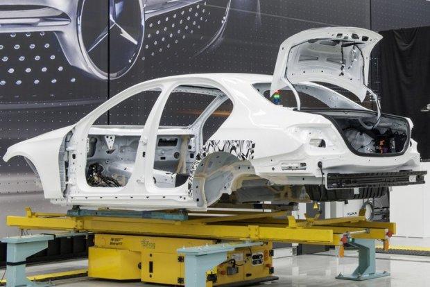 Mercedes klasy E | Wizyta w fabryce