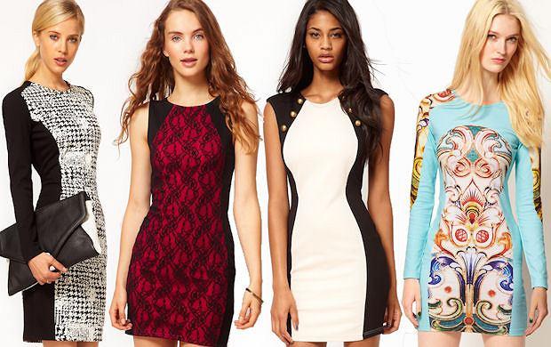 Sukienki panelowe, kt�re optycznie wyszczuplaj� - to dzia�a!