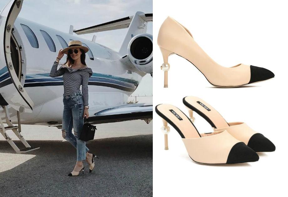 Marina Łuczenko - buty Chanel