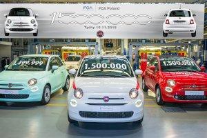 Święto w fabryce w Tychach   Już 1 500 000 Fiatów 500