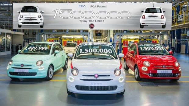 �wi�to w fabryce w Tychach | Ju� 1 500 000 Fiat�w 500