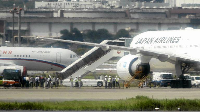 Boeing 777 z 248 osobami lądował awaryjnie w Tokio