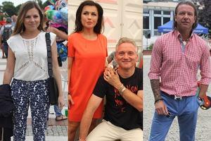 Tadla w obj�ciach Kreta, M�ynarska z nowym facetem i radosna Kwa�niewska. Kto jeszcze przyjecha� do �winouj�cia na Karuzel� Cooltury?
