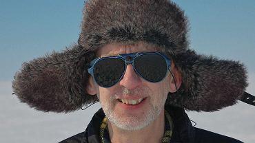 Dr Jonathan Shanklin podczas wyprawy antarktycznej w 2012 r.