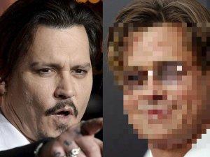 Johnny Depp zrobi� niema�� furor� swoim niekorzystnym wygl�dem, gdy ostatnio pojawi� si� na imprezie. Jednak �eb w �eb w wywieraniu z�ego wra�enia idzie z nim Brad Pitt. Nie wiemy, czy to przez niemodne okulary czy mo�e przez now� fryzur�, ale 51-letni aktor sprawia� wra�enie zaniedbanego.
