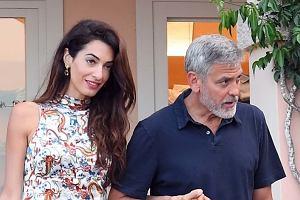 Amal i George Clooneyowie na randce