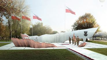 Projekt pomnika Armii Krajowej