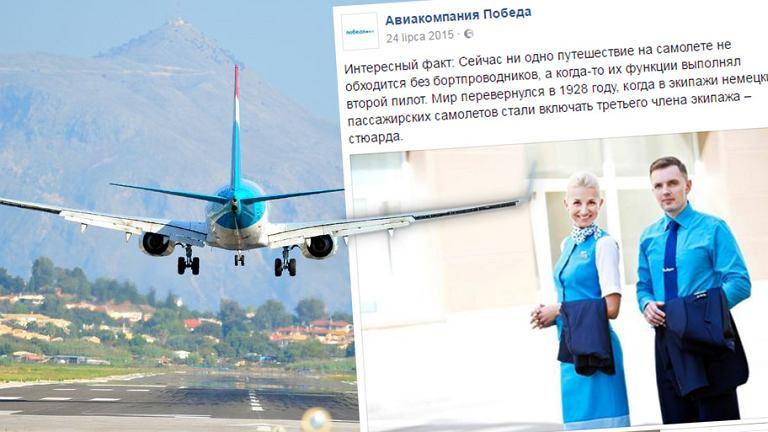 Pracownicy rosyjskiej linii lotniczej wezmą udział w szkoleniu pod okiem komandosów