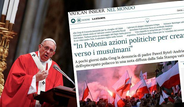 """""""La Stampa"""": Mocne przesłanie z Watykanu przed ŚDM. Jest o Polsce i lęku przed uchodźcami"""