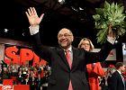 Schulz jednogłośnie wybrany na szefa SPD. Zmierzy się z Merkel w walce o fotel kanclerza Niemiec