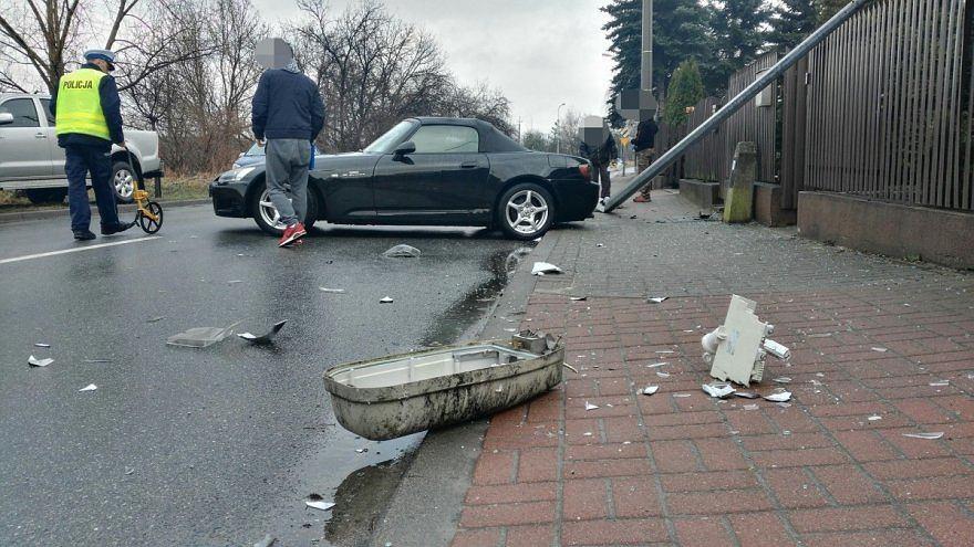 Zaskakujący finał jazdy próbnej wymarzonym autem