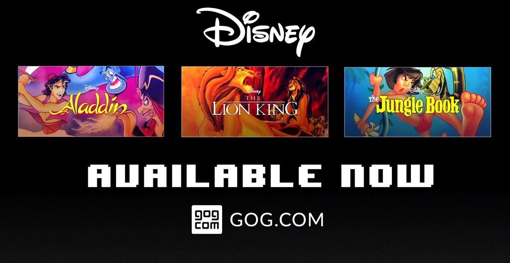 GOG.com z 3 klasykami Disney'a