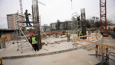 Pierwsze prace przy budowie Hanza Tower po czteroletniej przerwie