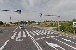 Śmiertelny wypadek w Chęcinach. Zablokowana DK7 na trasie Warszawa-Kraków