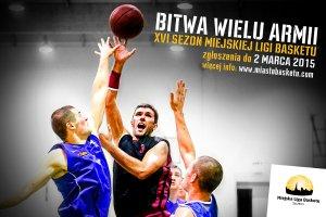 Zapisy do Miejskiej Ligi Basketu. To już 16. sezon