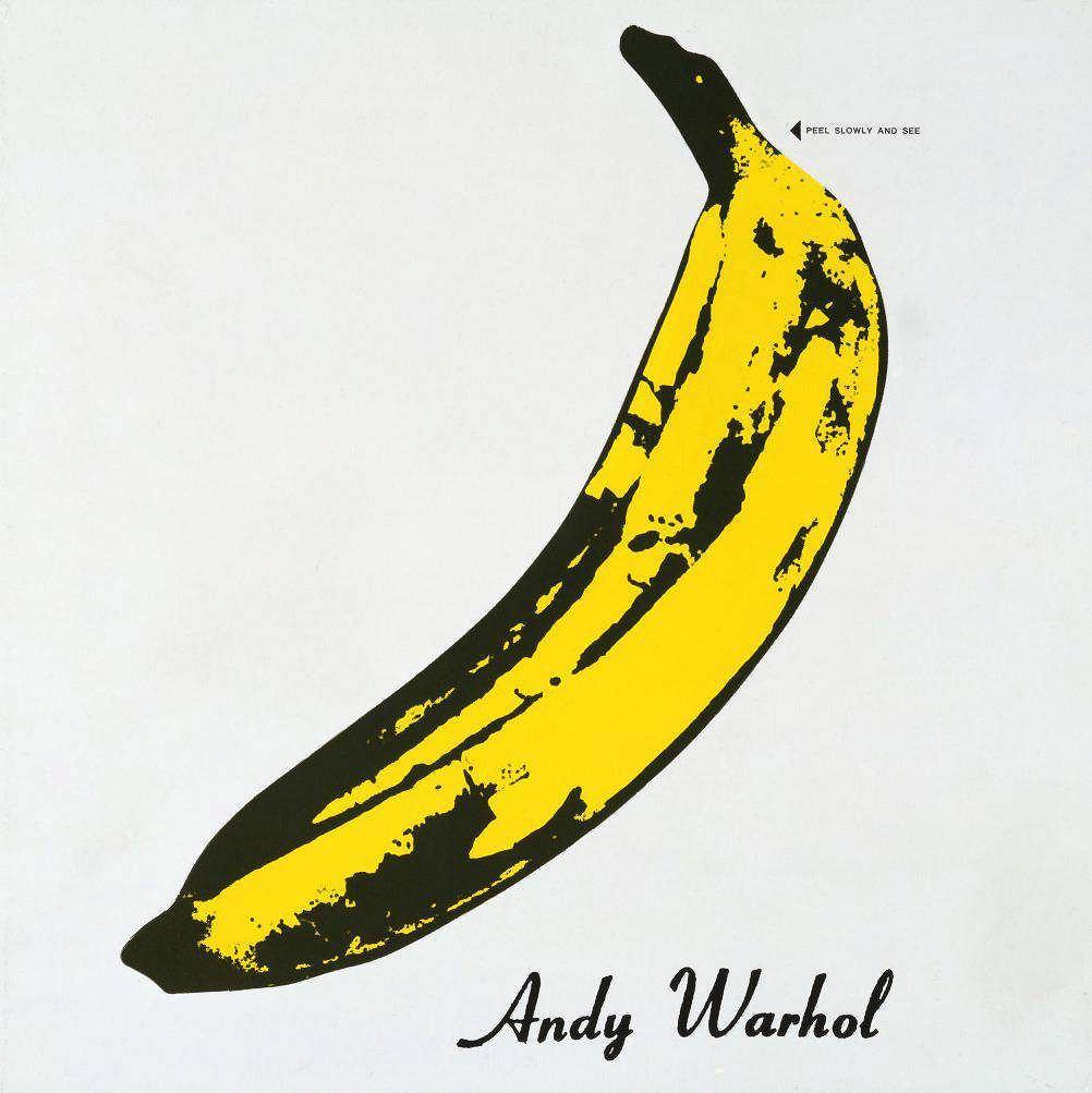 / Andy Warhol, okładka płyty VERVE Velvet Underground, 1967