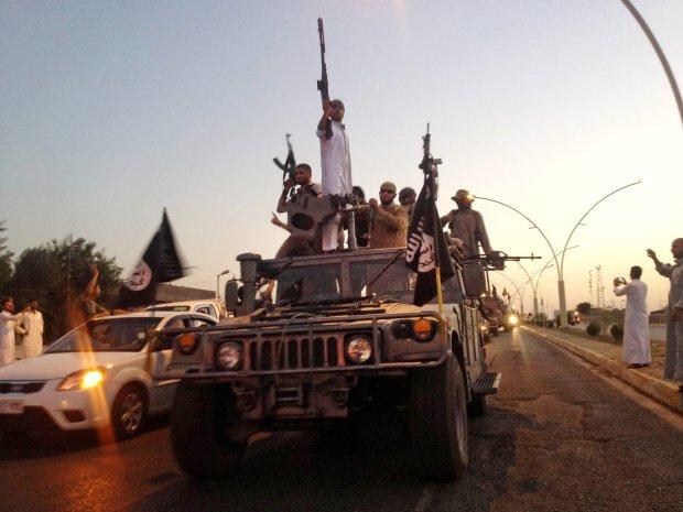Bojownicy Państwa Islamskiego przejęli pojazd sił irackich