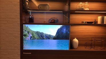 Transparentny ekran OLED Panasonica