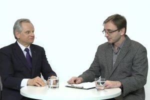 """Temat dnia """"Gazety Wyborczej"""": Ustawa frankowa. """"To  ryzyko systemowe dla ca�ego sektora bankowego i dla pa�stwa"""" - Krzysztof Kalicki  rozmawia z Konradem Sadurskim"""