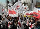69 proc. Polak�w popiera akcje protestacyjne zwi�zk�w zawodowych